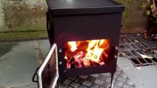 Homemade Ammo Box Woodburner Stove