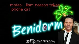 Benidorm special - mateo does liam neeson taken phone call