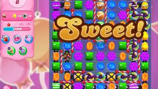 Candy Crush Saga Level 5996 (3 stars, No boosters)