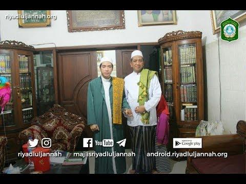 KH. Abdul Kholiq Hasan, M.HI. di Majlis Riyadlul Jannah Malang Januari 2017