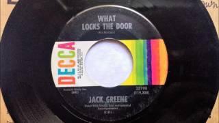 Watch Jack Greene What Locks The Door video