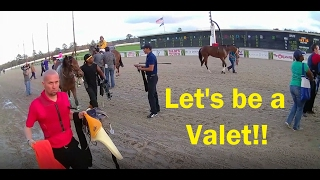 Let's Be a Jockey Valet and Saddle a Horse!