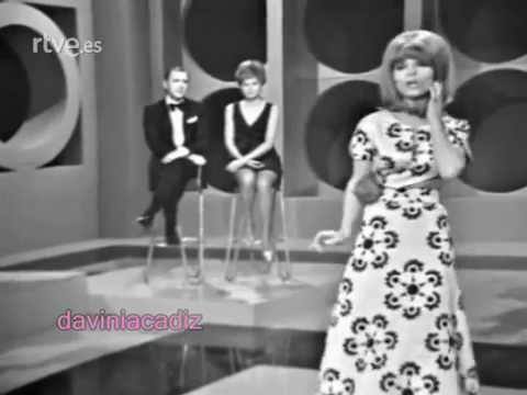 ENCARNITA POLO - PEPA BANDERA 1969 su primera actuacion como cantante
