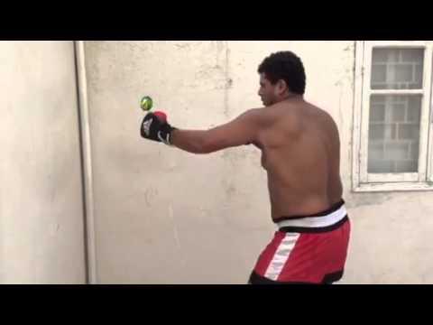 Preparation technique de kick thai boxing hassan chkirach i