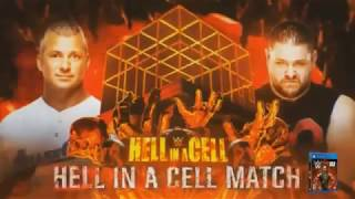 WWE Hell in a Cell 2017 Shane McMahon vs Kevin Owens Official Match Card