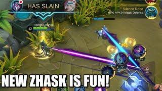 NEW ZHASK IS REALLY FUN!