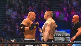 WWE 2K14: 30 Years of WrestleMania - Ruthless Aggression Era - 6 (Goldberg vs Brock Lesnar - WM XX)