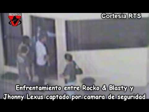 Enfrentamiento entre Rocko & Blasty y Lexus captado por camara