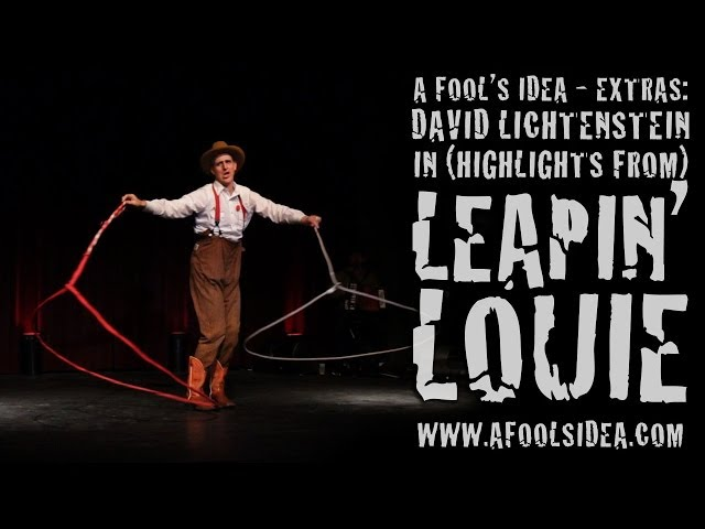 "A FOOL'S IDEA - EXTRAS: DAVID LICHTENSTEIN IN (HIGHLIGHTS FROM) ""LEAPIN' LOUIE"""