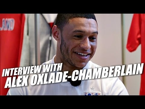 Alex Oxlade-Chamberlain interview - England, World Cup 2014 and Football Boots