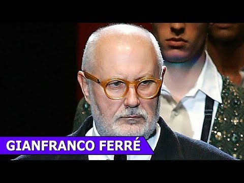 Gianfranco Ferré | Italian Fashion Designer | Fashion Memior | Fashion Funky