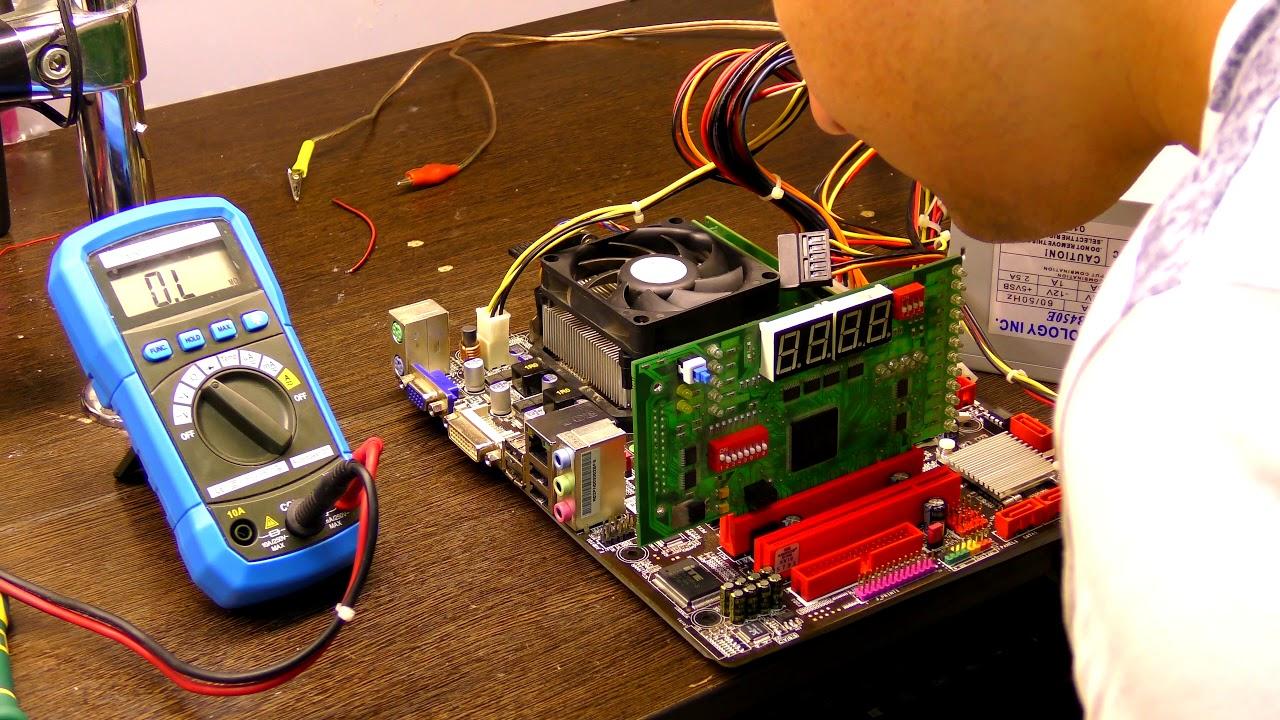 Ремонт материнских плат компьютеров своими руками