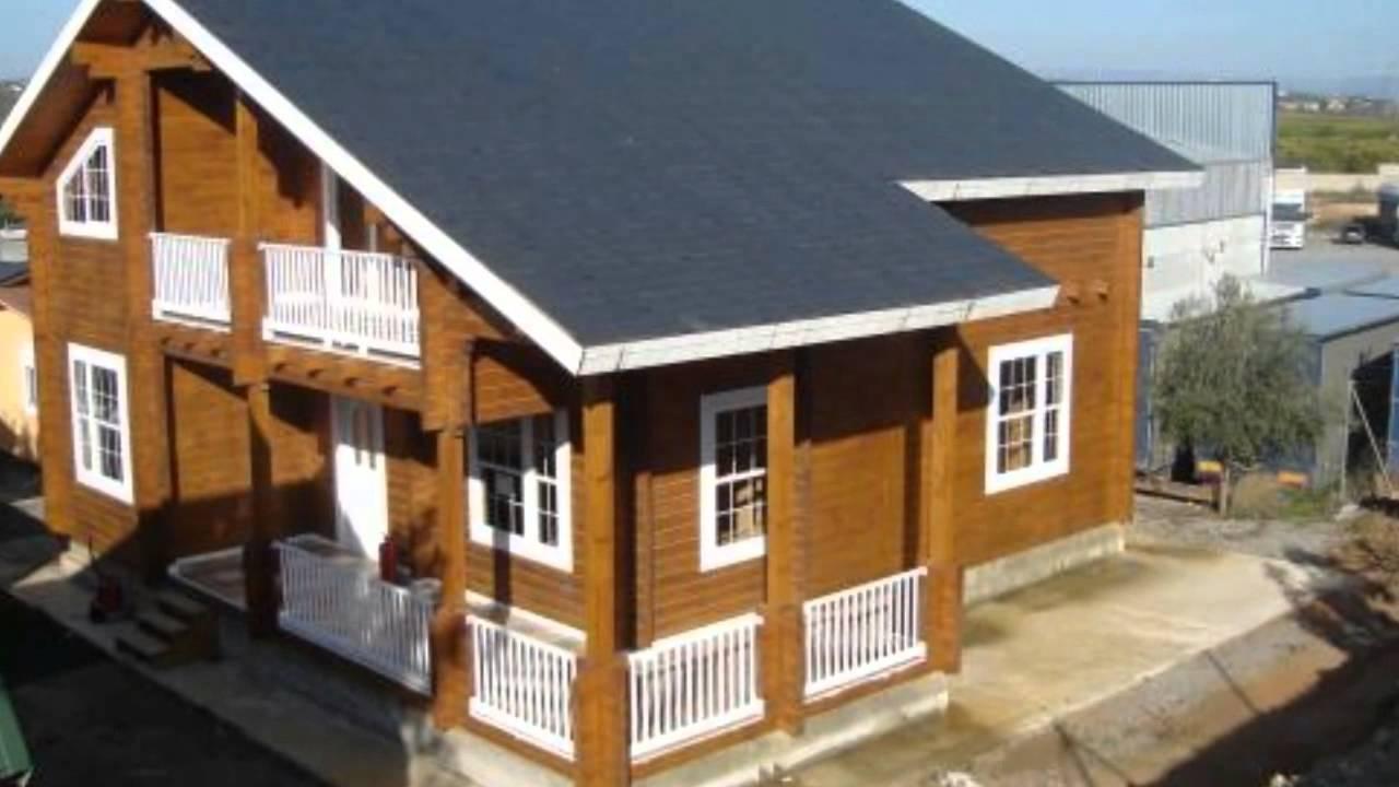 Casas de madera baratas en albacete sevilla y castell n - Casa madera sevilla ...