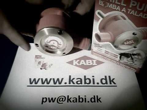KABI boremaskinepumpe til dieselolie pw@kabi.dk.wmv