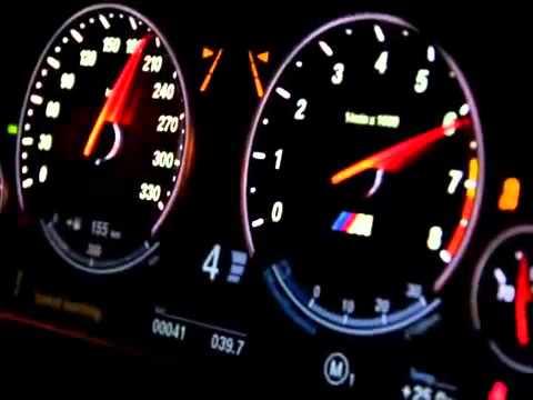 BMW M5 F10 V8 Biturbo 0-300 км/ч ускорение - YouTube