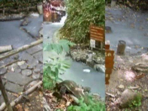 混浴温泉:登別大湯沼の川湯・konyokuooyunuma