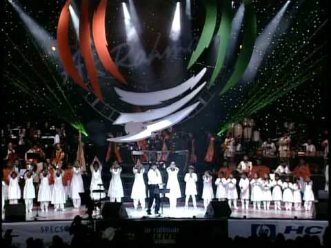 A.R.Rahman Concert LA Part 3641 Vande Mataram Full Song