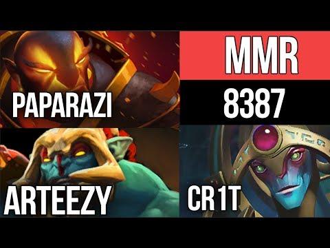 8387 Highest Average MMR EVER - Paparazi vs. Team EG without SumaiL - Dota 2