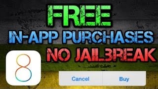 How To Get in App Purchases FREE on iOS 8.4