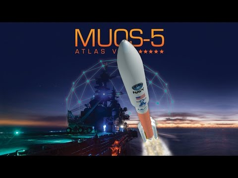 Atlas V MUOS-5 Launch Broadcast