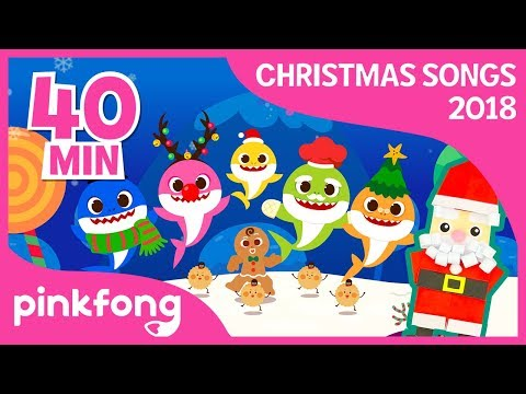 Baby Shark vs Gingerbread Man and more | Christmas | +compilation | Pinkfong Songs for Children