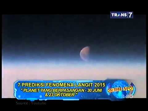 On The Spot - 7 Prediksi Fenomena Langit 2015