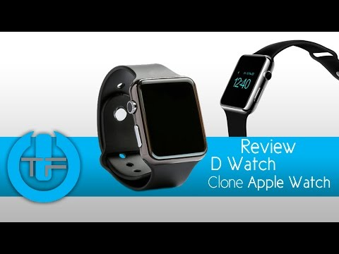 DWatch Clone Apple Watch - Review, vale la peno o no?