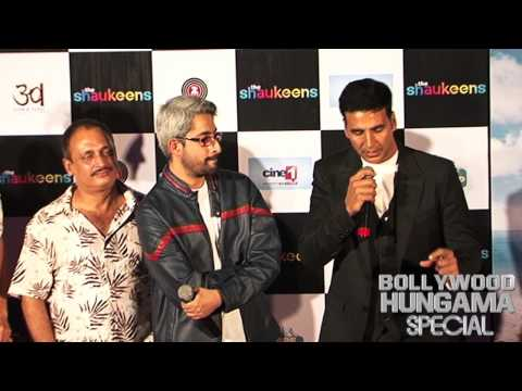 Akshay Kumar calls himself non-actor at The Shaukeens trailer launch