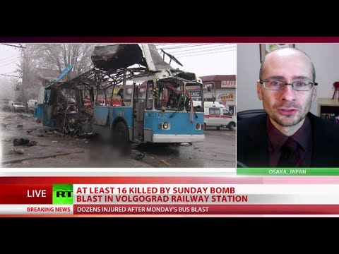 'Volgograd bombings terror message to Russia's position on Syria'