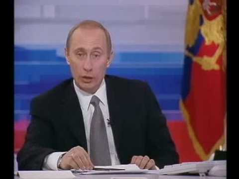 В.Путин.Прямая линия.24.12.01.Part 10