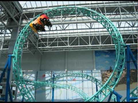 Nickelodeon Universe - Mall of America - 2010 Video