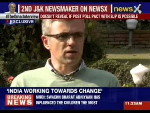 NewsX Exclusive Interview with Omar Abdullah