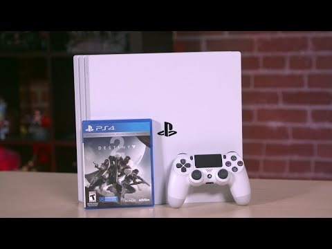 Destiny 2: PS4 Pro Limited Edition Unboxing