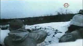 Rare WW2 colour footage of the eastern front