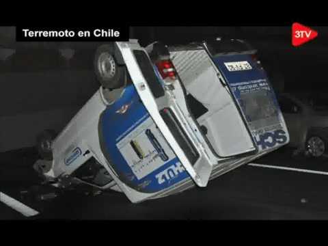 Terremoto no Chile - Vejam imagens em video dos tremores - Dia 27/02/2010