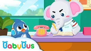 ❤ What To Do If You Got Lost   Kids Cartoon   Play Safe   Animation For Babies   BabyBus