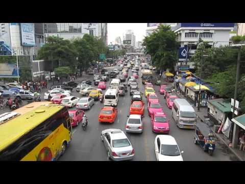 Traffic Jam Bangkok @ Central World