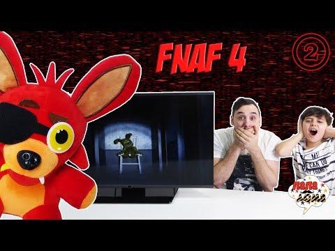 Папа РОБ и Ярик продолжают играть в FNAF4! Часть 2