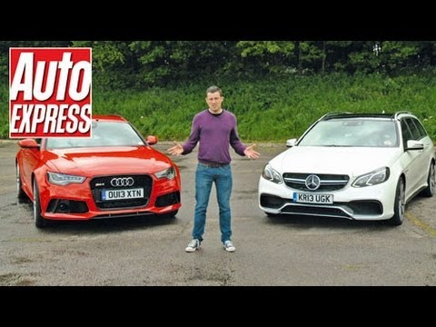 Audi RS6 vs Mercedes E63 AMG review - AutoExpress
