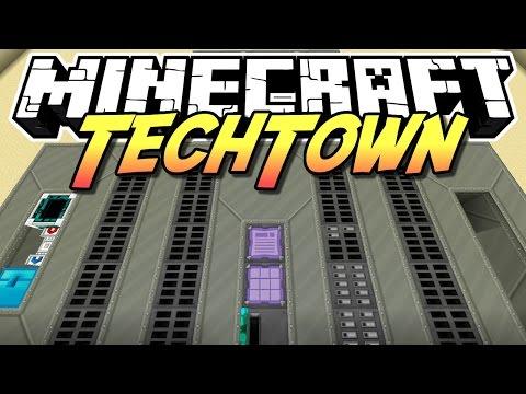 Minecraft TechTown - ZENTRALRECHNER #136 - auf gamiano.de