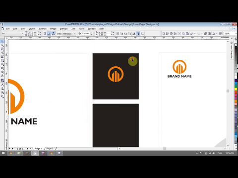 Design Logo & Corporate Identity With CorelDRAW - [Lesson 2]