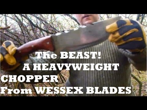 The Beast..a Zombie killer knife from Wessex Blades