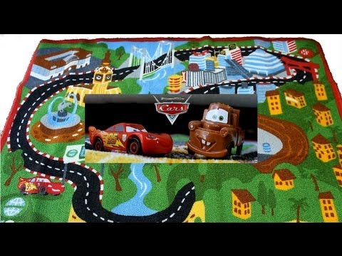 Disney Pixar Cars Game Rug Stop Motion Animation Cars