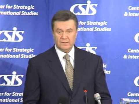 Statesmen's Forum: Viktor Yanukovych, Prime Minister of Ukraine