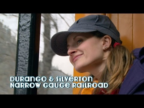Engineer Emily Visits the Durango & Silverton Narrow Gauge Railroad!