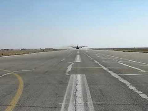 C-130 Assault Takeoff - Iraq