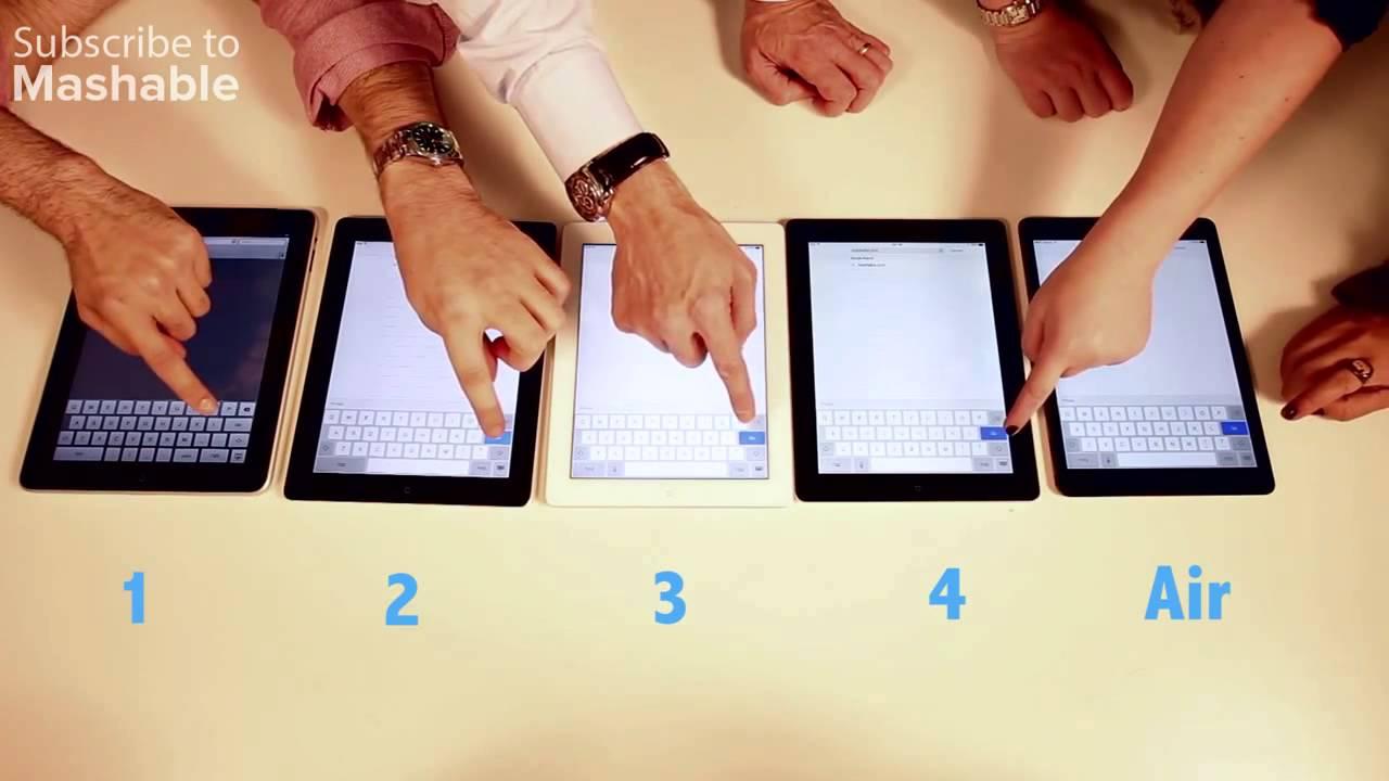 Ipad Compared to Ipad Air Ipad Air vs Ipad 1 vs Ipad 2