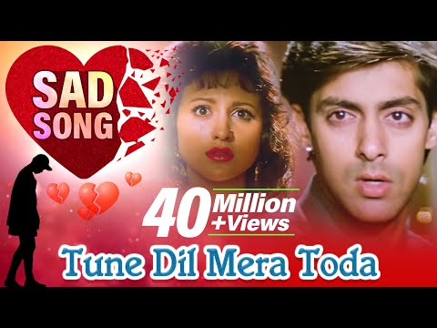 Tune Dil Mera Toda Kahi (hd) - Sanam Bewafa Songs - Salman Khan - Chandni - Lata Mangeshkar video