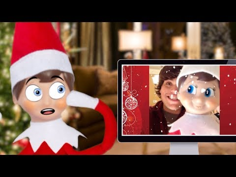 TRY NOT TO LAUGH 🎄 ELF ON THE SHELF PART 1 🎄 Christmas 2017
