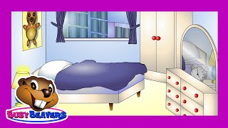 """In the Bedroom"" (Level 1 English Lesson 22) CLIP - Learn English Words, Bedroom Words in English"
